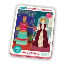 Girl Power Magnetic Built-It Tin