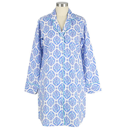 Thea Cotton Poplin Classic Nightshirt