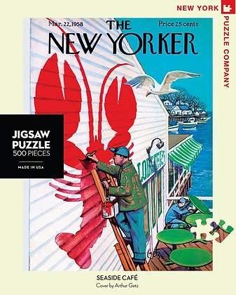 Seaside Cafe 500pc Jigsaw Puzzle