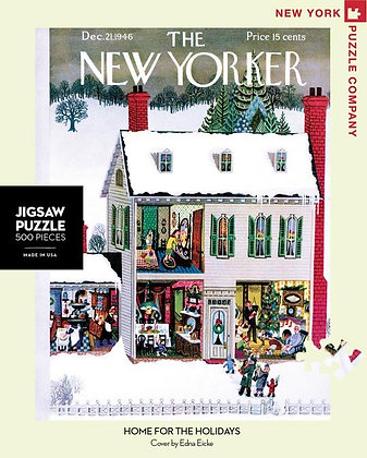Home for the Holidays 500pc Jigsaw Puzzle