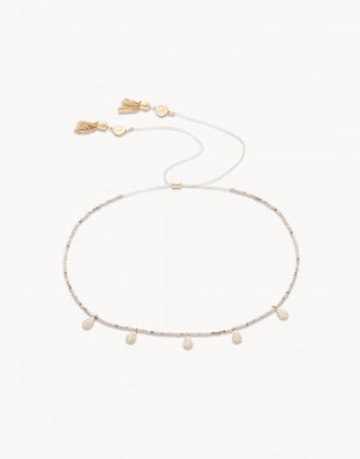 Teardrop Beaded Choker