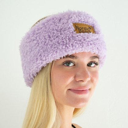 Soft Lilac Nordic Beach Head Wrap