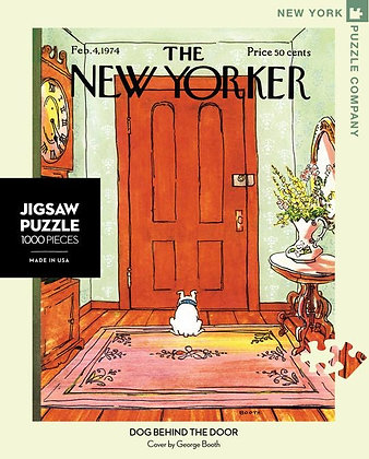 Dog Behind the Door 1000pc Jigsaw Puzzle