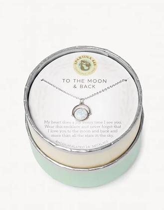 Sea La Vie to the Moon & Back Necklace