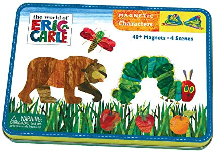 World of Eric Carle Magnetic Built-It Tin