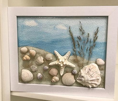 Starfish Beach Grass on Right Scene