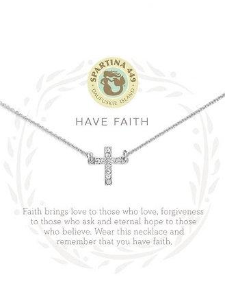 Sea La Vie Have Faith Necklace