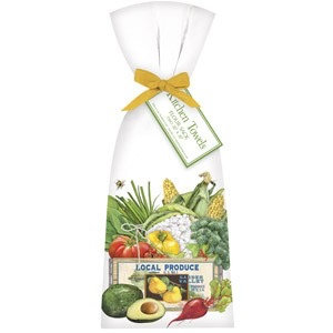 Farmers Market Box Towel Set
