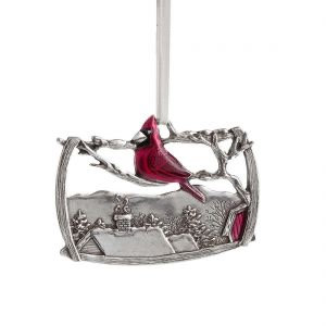 A Visitor 2015 Annual Ornament from Danforth Pewter