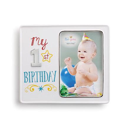 My First Birthday Frame