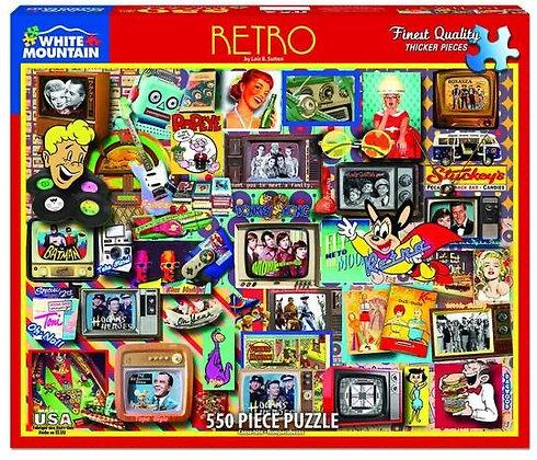 Retro 550 Piece Jigsaw Puzzle