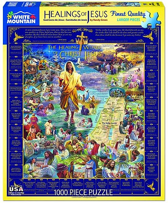 Healings of Jesus 1000pc Jigsaw Puzzle