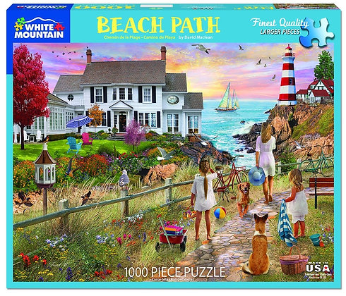 Beach Path 1000pc Jigsaw Puzzle
