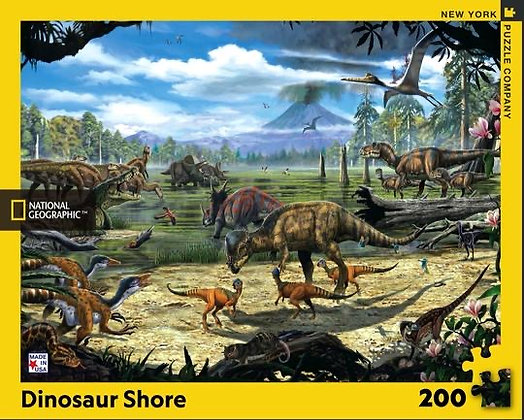 Dinosaur Shore 200pc Jigsaw Puzzle