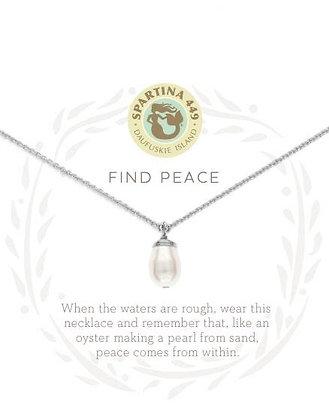 Sea La Vie Find Peace Necklace