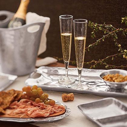 Bellini Champagne Flutes, Set of 2