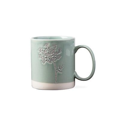 Wildflower Wax Resist Mug