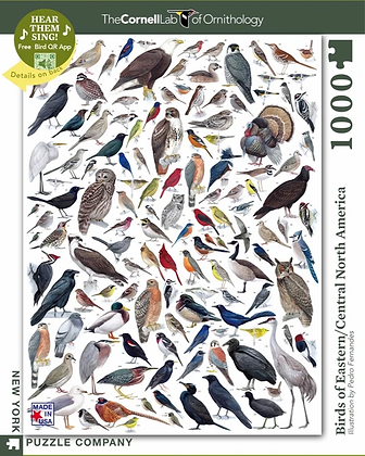 Birds of Eastern/Central N. America 1000pc Jigsaw Puzzle