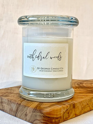 Cathedral Woods Coconut Wax Candle