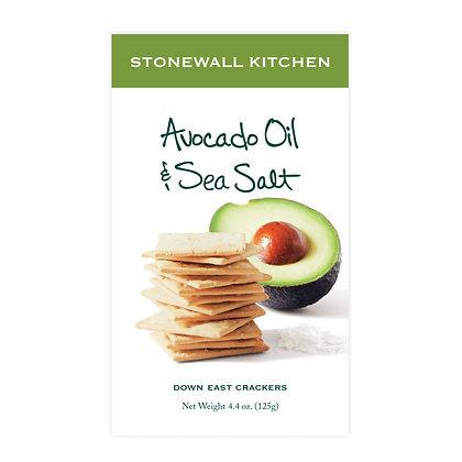 Avocado Oil & Sea Salt Crackers
