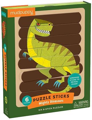 Mighty Dinosaurs Puzzle Sticks