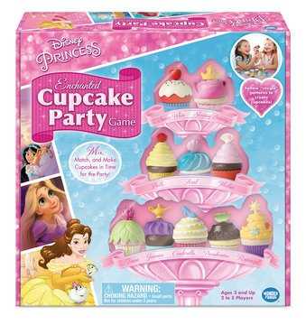 Disney Priness Enchanted Cupcake Party Game