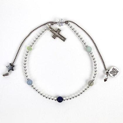 Family Virtues Bracelet Scattered Gemstones