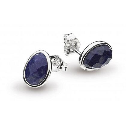 Coast Pebble Lapis Lazuli Stud Earrings