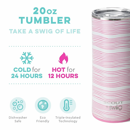 Swig 20oz Tumbler Wave Love