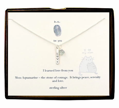 I Learned Love From You Necklace
