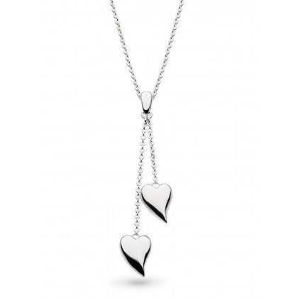 Forever Heart Lariat Necklace 18""