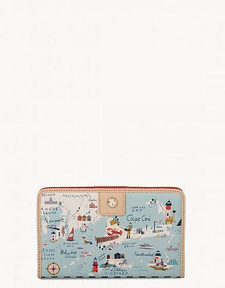 Northeastern Harbors Snap Wallet