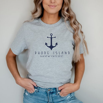 Rhode Island Short Sleeve T-Shirt