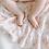 Thumbnail: Snuggle Knit Newborn Swaddle &  Hat Set Rosettes