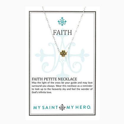Faith Petite Cross Necklace