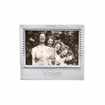 Sisters Beaded 4x6 Frame