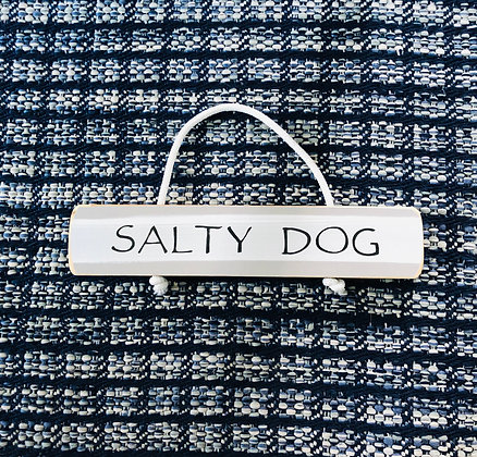 Salty Dog Sign