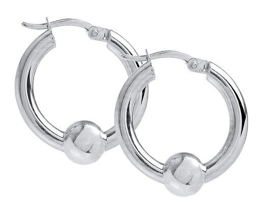 Cape Cod Earrings Sterling Silver Ball