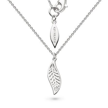 """Blossom Eden Leaf Necklace 18"""""""