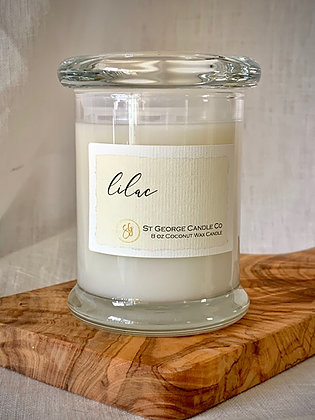 Lilac Coconut Wax Candle