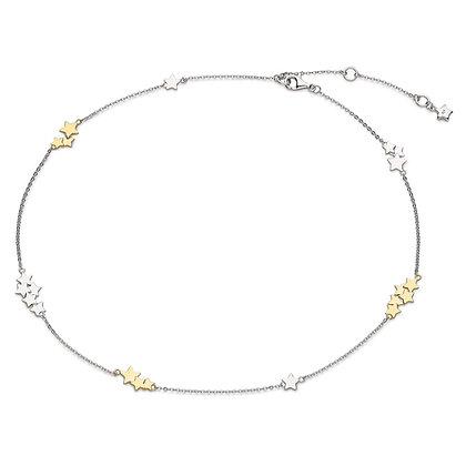 Stargazer Stellar Two Tone Necklace