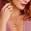 "Thumbnail: Desire Heart Necklace 18"""