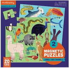 Land & Sea Animals Magnetic Puzzle