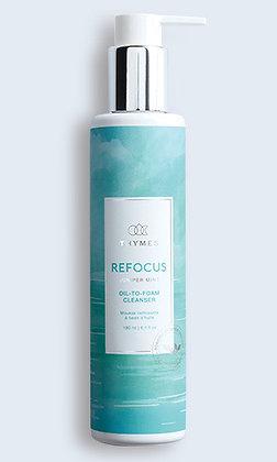 Refocus Oil-to-Foam Cleanser