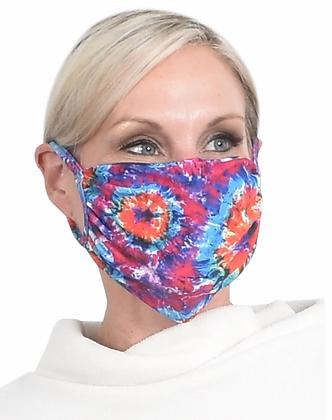 UPF 50 Face Mask Tie Dye