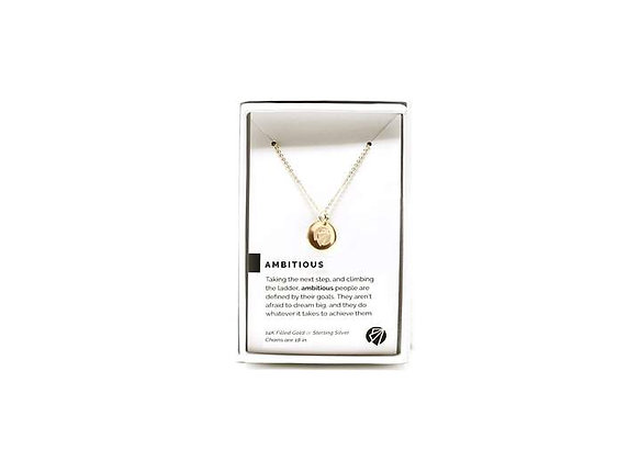 Ambitious Necklace Gold