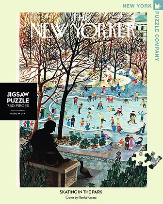 Skating in the Park 750pc Jigsaw Puzzle