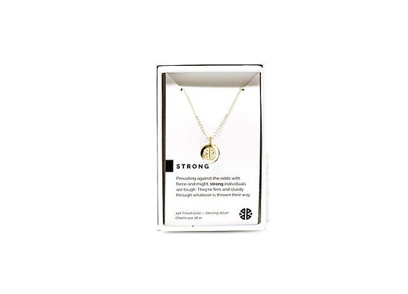 Strong Necklace Gold