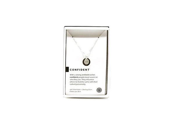 Confident Necklace Silver