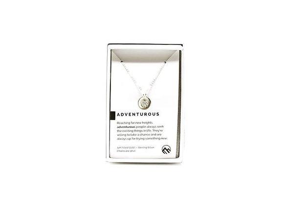 Adventurous Necklace Silver